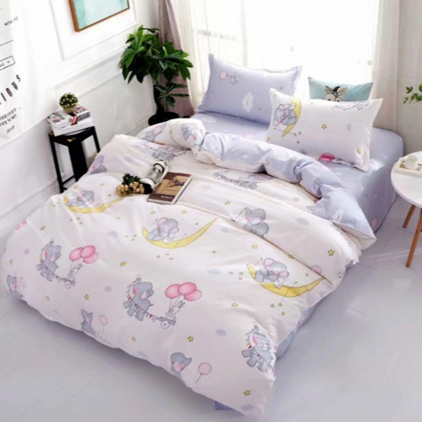 Детское постельное белье Слоники