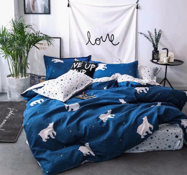 Детское постельное белье Белые медведи