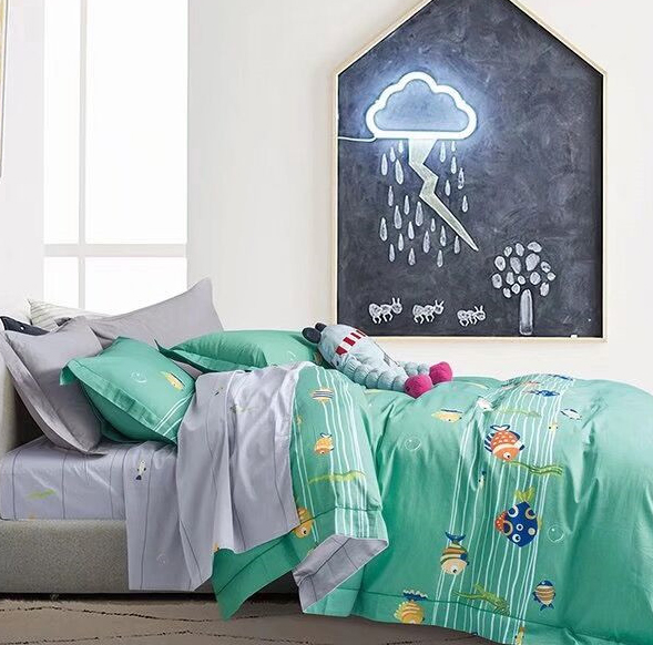 Детское постельное белье Подводный мир