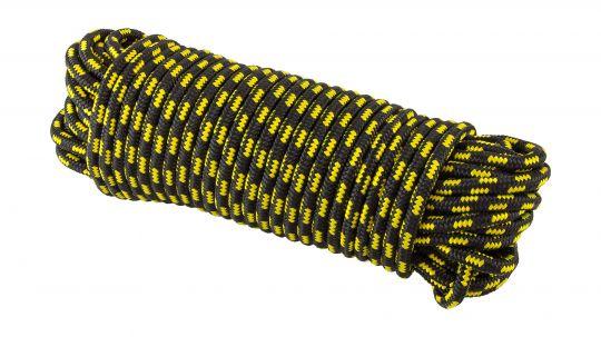 Шнур полипропиленовый плетёный 8мм*30м для поискового магнита 700кг