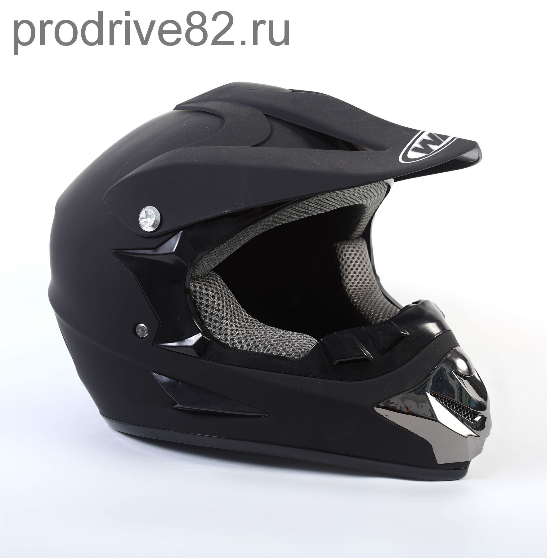 Шлем кроссовый WLT Black