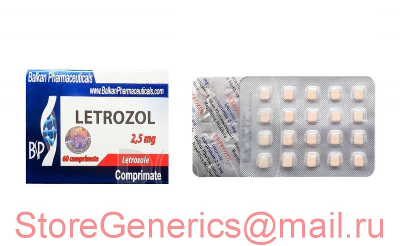 Летрозол 2.5мг/ 20 таб. Balkan Pharmaceuticals