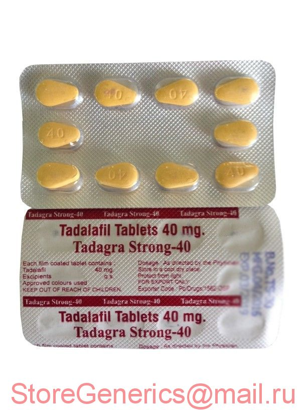 Tadagra Strong 40 mg