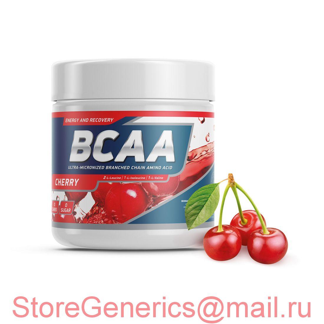 Geneticlab BCAA PRO 250gr/20serv Cherry