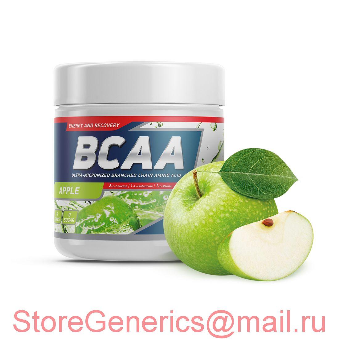 Geneticlab BCAA PRO 250gr/20serv Apple