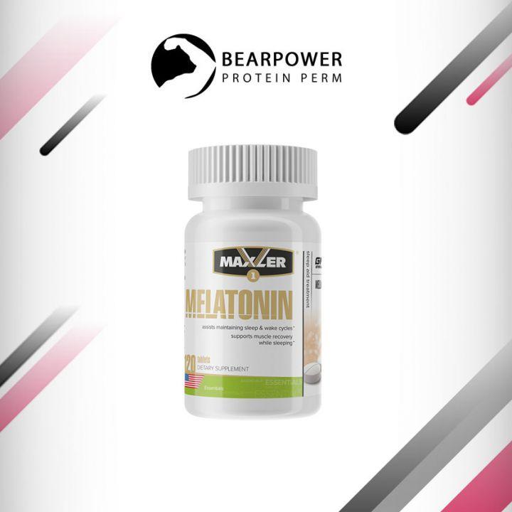 Мелатонин (гормон сна) 3 мг. 120 таб (Maxler Melatonin)