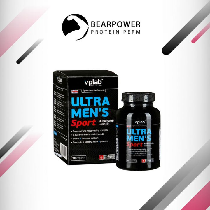 Ultra Men's Sport Multivitamin Formula от VP Laboratory 90 капс