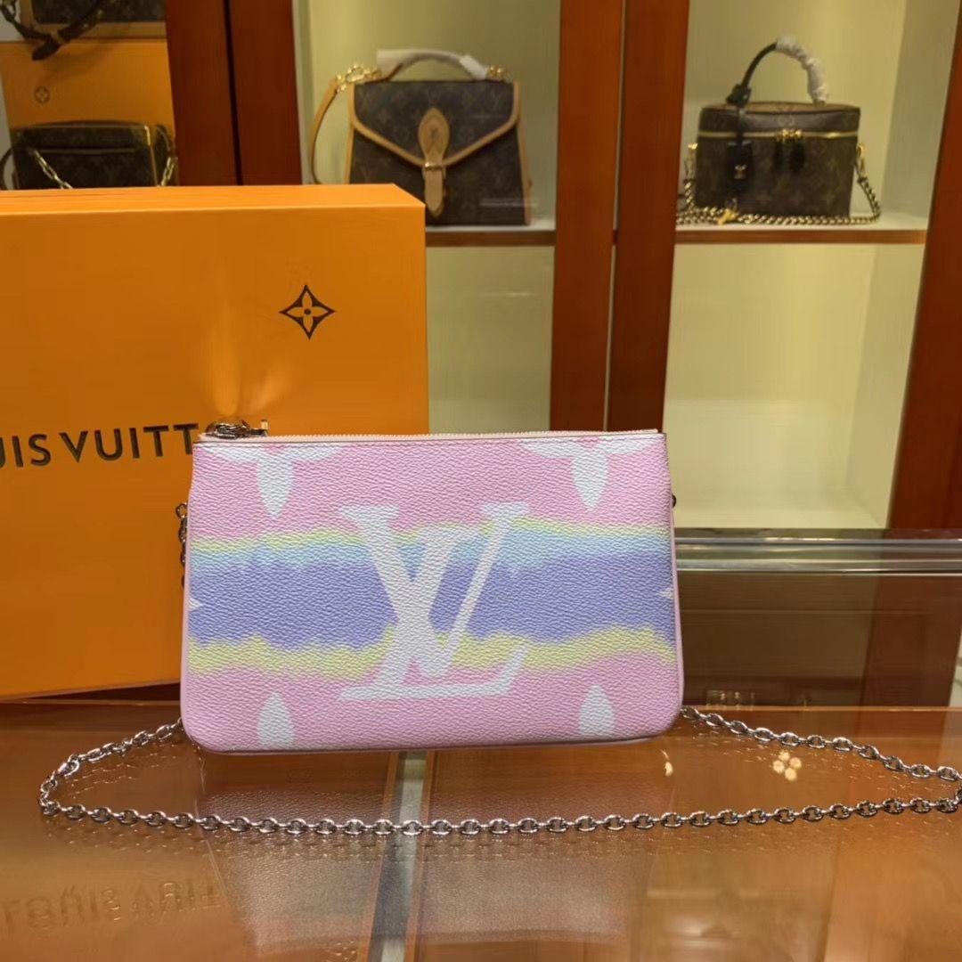 Клатч Louis Vuitton Escale Pochette Double Zip