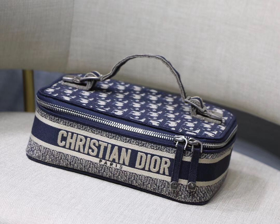 Дорожный несессер Dior Oblique