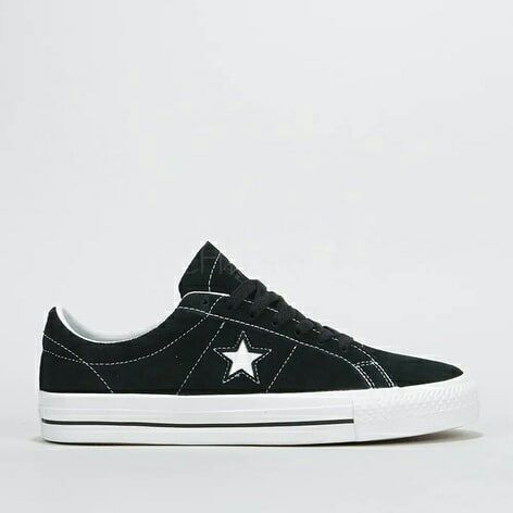 Converse One Star Pro Ox Black