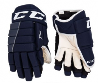 Перчатки CCM Tacks 4R YTH  navy