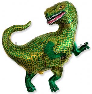 Шар (33''/84 см) Фигура, Динозавр Тираннозавр, 1 шт
