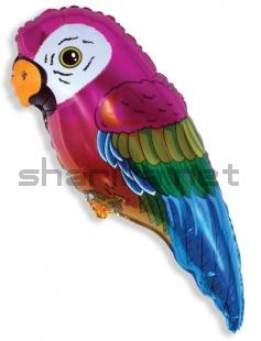 Шар (35''/89 см) Фигура, Супер попугай, 1 шт