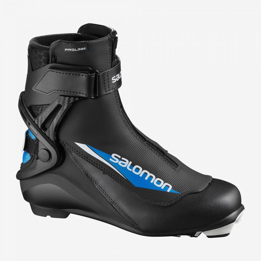 ботинки коньковые юниорские salomon s/race skate jr prolink