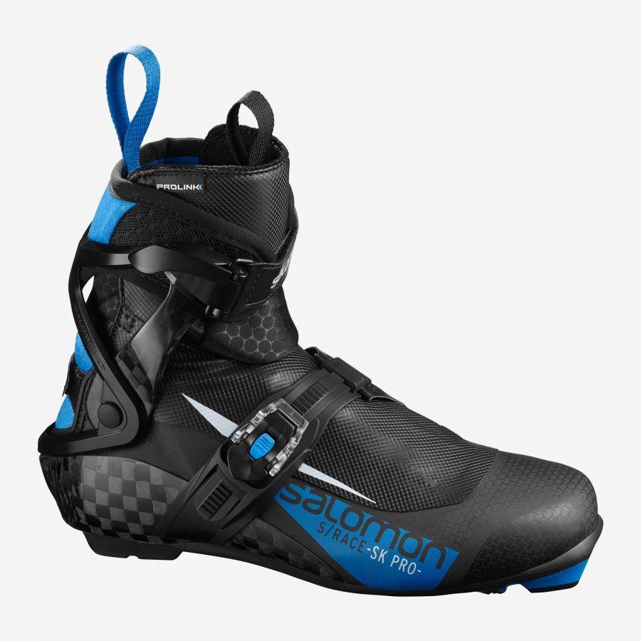 ботинки коньковые гоночные salomon s/race skate pro plus prolink 19/20