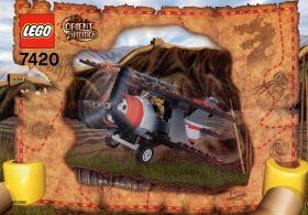 "7420 Лего Самолет ""Thunder Blazer"""