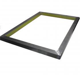 Рама трафаретная Hurtz, размер 400*500 (30*30 3,0/1,8 мм) внешний размер 460х560 мм, алюминиевая