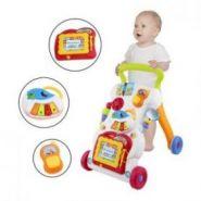 Каталка-ходунок для малышей с развивающим комплексом