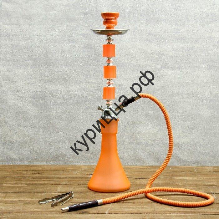 """Кальян """"Азизи"""", 54 см, 1 трубка, оранжевый"""