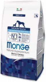 Monge Dog Medium Starter Puppy&Junior корм д/щенков средних пород