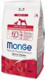 Monge Dog Mini Starter корм д/щенков мелких пород