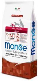 Monge Dog Speciality Mini корм д/взрослых собак мелких пород с ягненком, рисом и картофелем