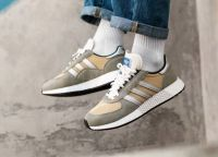 ADIDAS MARATHON TECH brown white