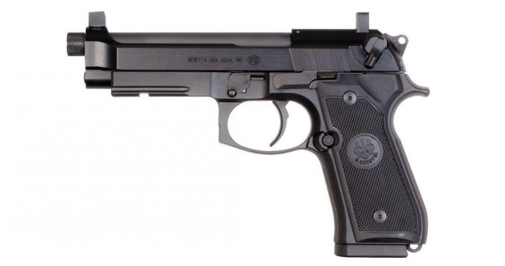 Пистолет Beretta 92FSR 22 с ПБС