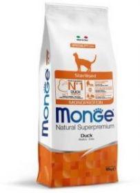 Monge Cat Monoprotein Sterilised корм д/стерилизованных кошек с уткой