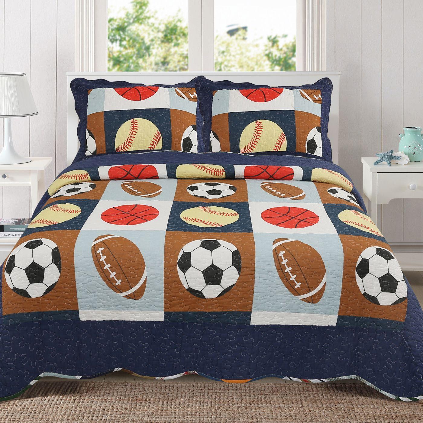 Покрывало Мячи (1,5-спальное)