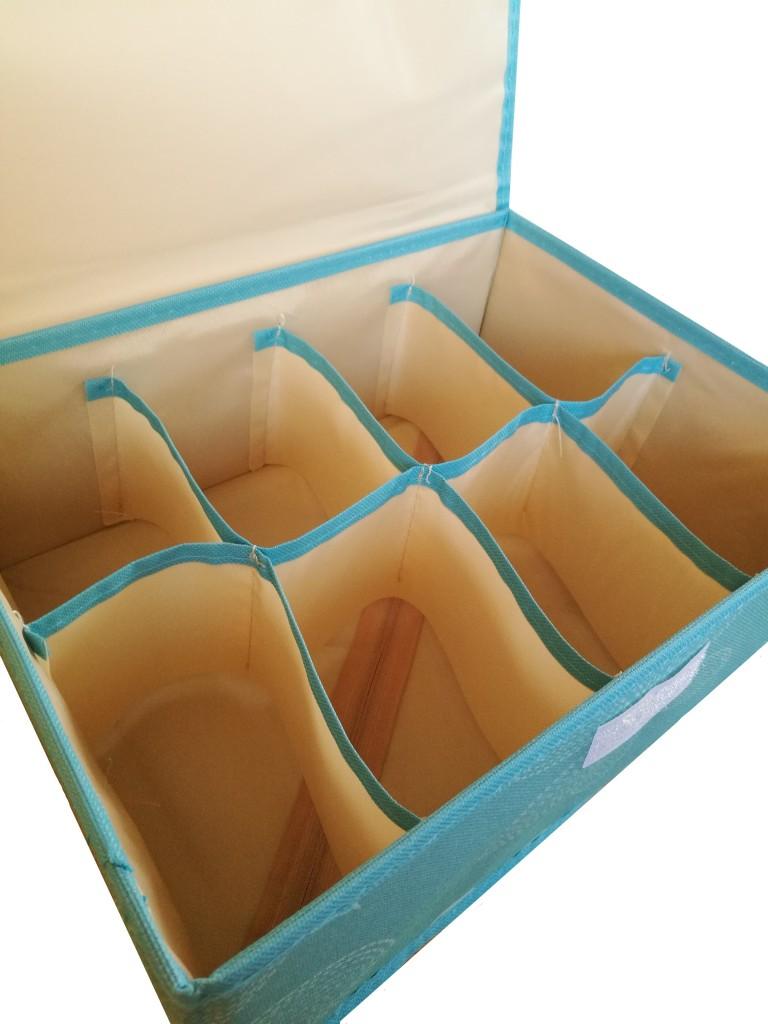 Короб для хранения с 8-ю ячейками, 31х24х12 см