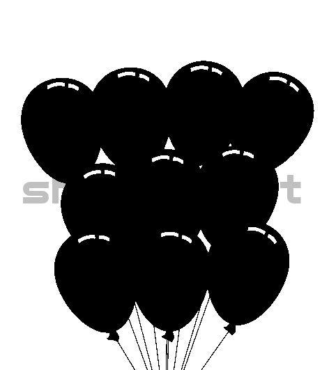 Сочетания с черным, 18 шариков