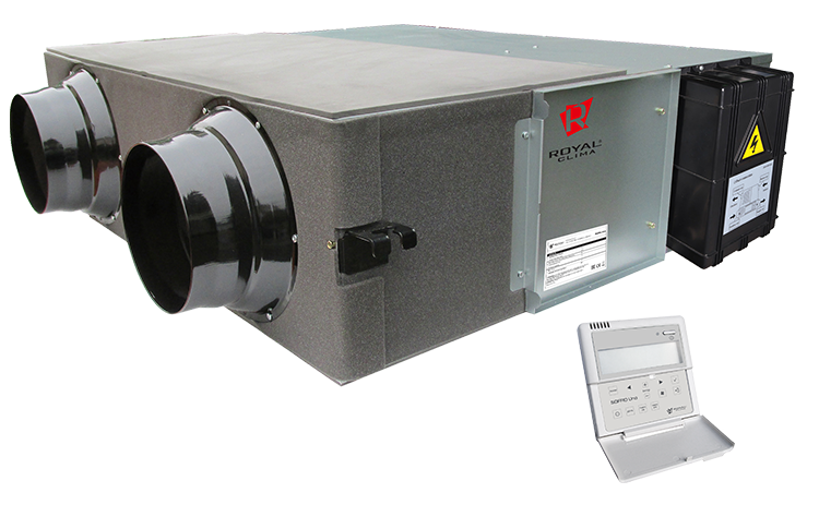 Приточно-вытяжная установка Soffio Uno RCS-500-U