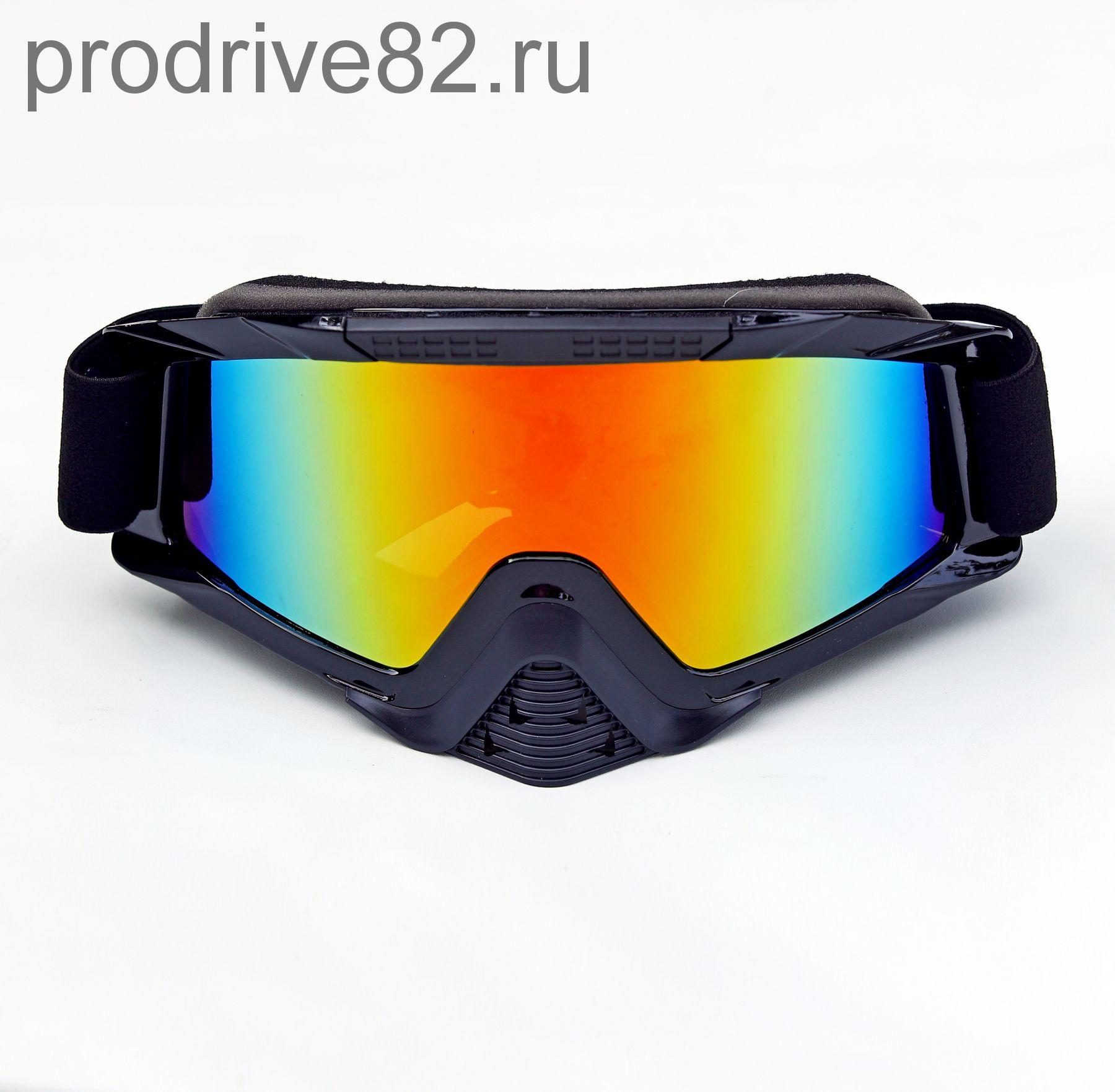 Очки для мотоциклистов Black