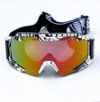 Очки для мотоциклистов Black-White фото 2