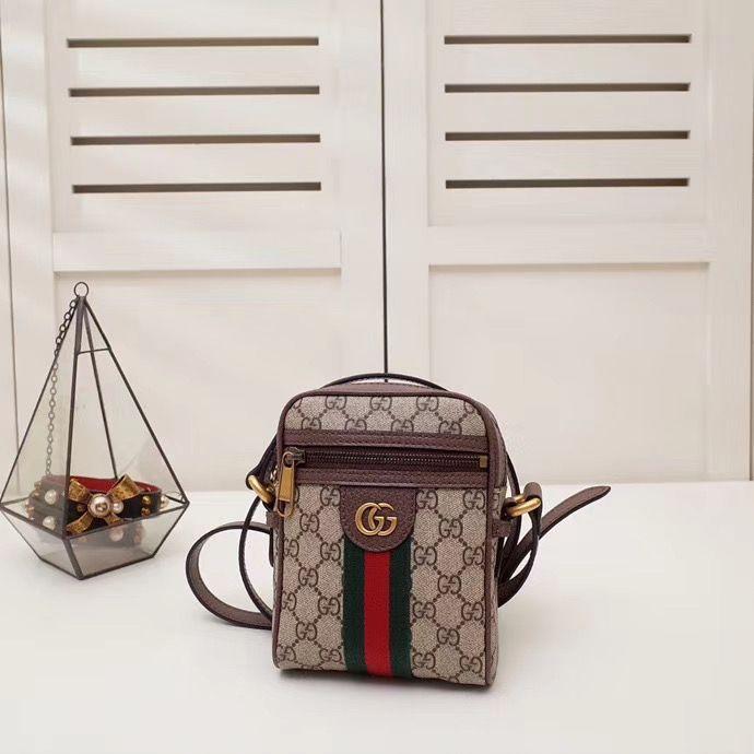 Мини сумка через плечо Gucci Ophidia 17,5 cm