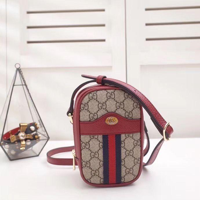 Мини сумка через плечо Gucci Ophidia 17 cm