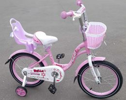 Велосипед Bella с креслом для куклы Rose