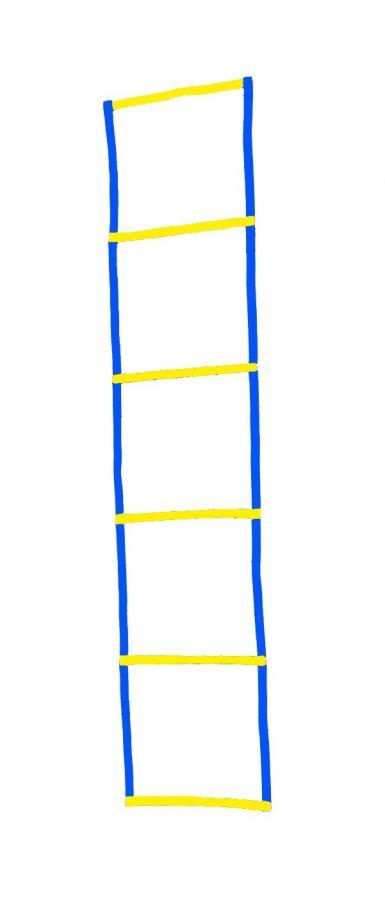 Координационная лесенка сине-жёлтая
