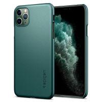 Чехол Spigen Thin Fit для iPhone 11 Pro зеленый