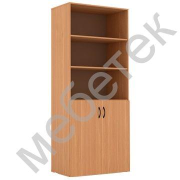 Шкаф для документов широкий полуоткрытый