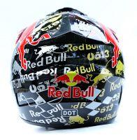 Шлем кроссовый Red Bull фото 3