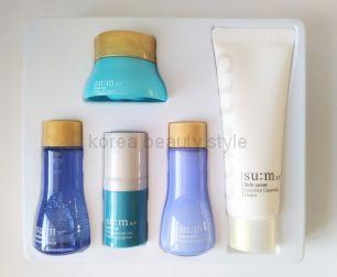 Набор миниатюр Su:m37 Water Full 5 Special Gift Set -  набор миниатюр из 5 средств увлажняющей линии ферментированной  косметики  Su:m37