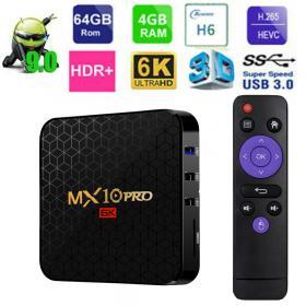ТВ-приставка MXQ MX-10 PRO 4Gb/64Gb (Android 9.0)