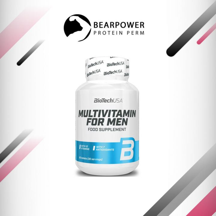 BIOTECH MULTIVITAMIN FOR MEN - 60 ТАБЛЕТОК