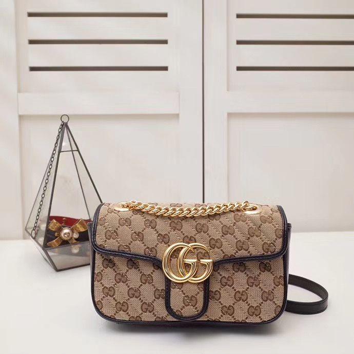 Gucci Marmont GG Azalea 22 cm
