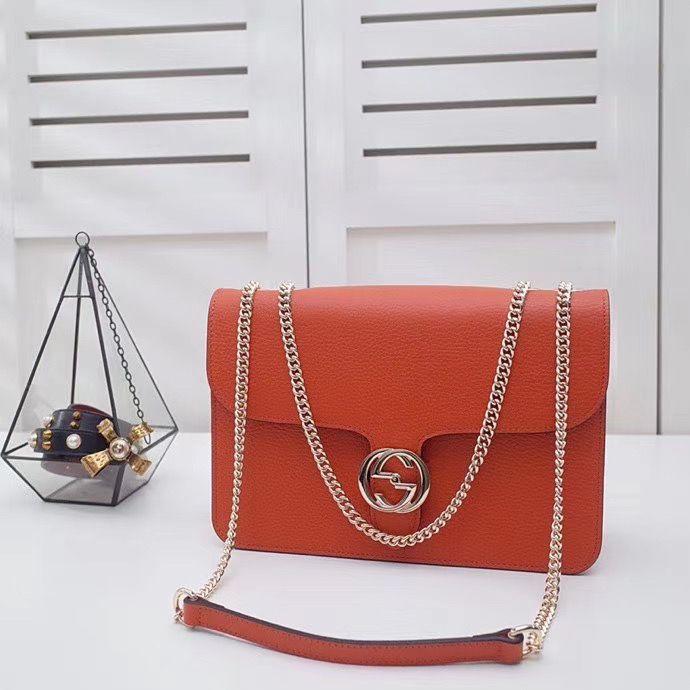Gucci Interlocking Bag 28 cm