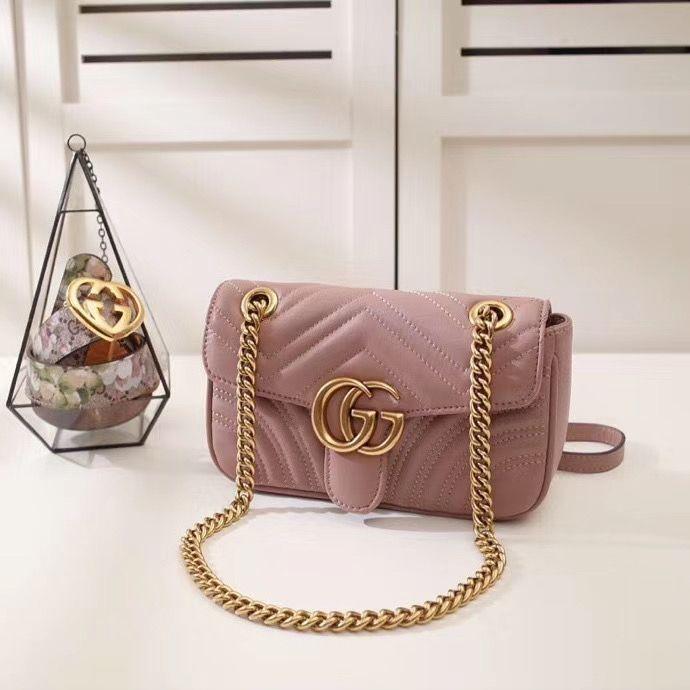 Gucci Marmont GG 22 cm