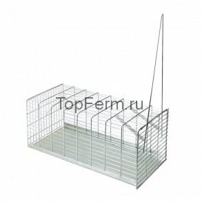 Мышеловка / Крысоловка. Клетка LUX 40 см