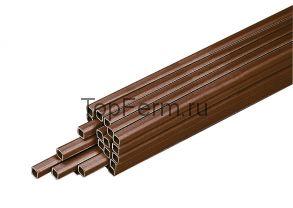 Труба квадратная 22х22х2,5 мм для линий поения, 1 метр